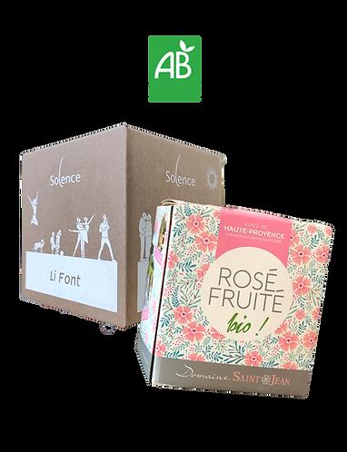 Diogène Duo BIB 3L Rosé-Rouge 2019