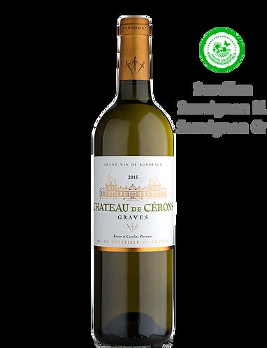 Cérons de Cérons 2015 - Château de CÉRONS - Graves