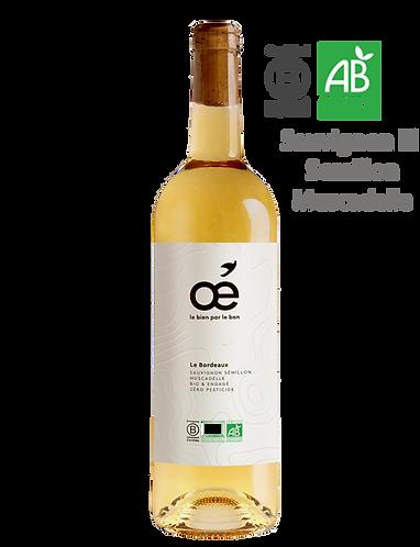 Le Bordeaux Blanc 2019 - OE - AOC Bordeaux