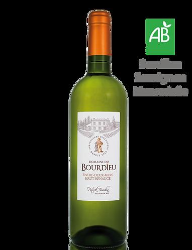 Domaine de Bourdieu 2018 - Vignoble BOUDON - Entre Deux Mers