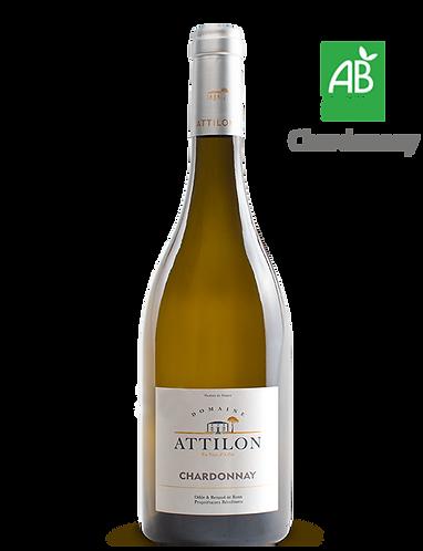 Chardonnay d'Ailleurs 2018 - Domaine ATTILON - IGP Méditerranée