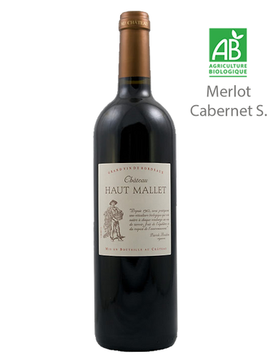 Château Haut Mallet 2016 - Vignoble BOUDON - Bordeaux Supérieur