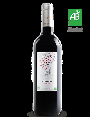 Merlot Allusion 2017 - Domaine ATTILON - IGP Méditerranée