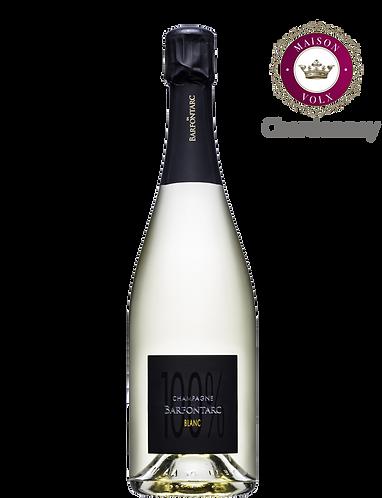 100% Blanc de Blancs - Champagne de BARFONTARC