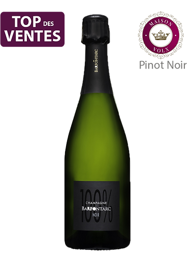 100% Blanc de Noirs - Champagne de BARFONTARC