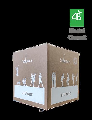 BIB 3L Rouge  Li Font 2019 - Domaine SOLENCE - IGP Méditerranée