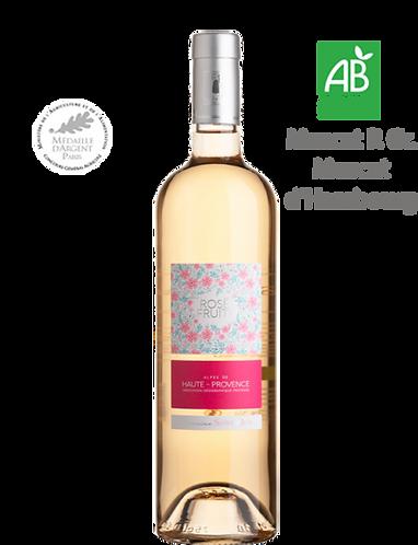 Rosé Fruité 2019 - Domaine ST JEAN LEZ DURANCE - Haute Provence