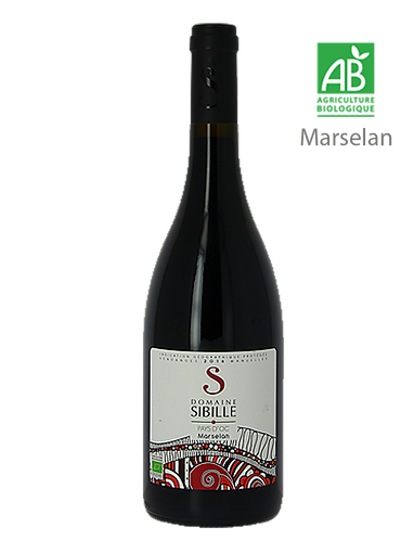 Marselan 2018 - Domaine SIBILLE - IGP Pays d'Oc