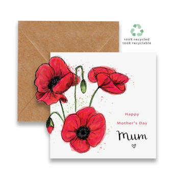 Poppies Cut Out