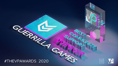 TheVPAwards 2020 Best Community Support.