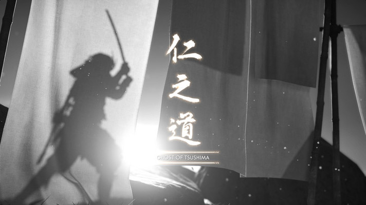0049 Ghost of Tsushima Shadow Silhouette