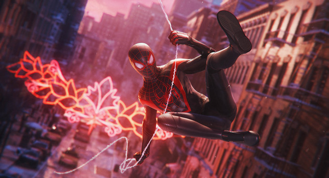 Marvel's Spider-Man Miles Morales Screen