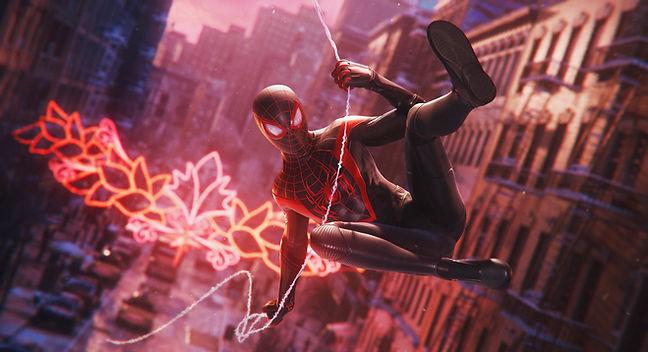 Marvel's Spider-Man Miles Morales Screen