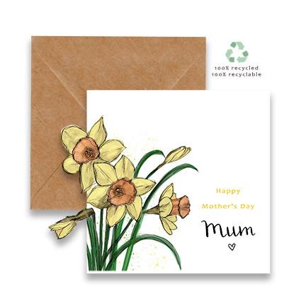 Daffodils Cut Out