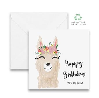 Llama Happy Birthday