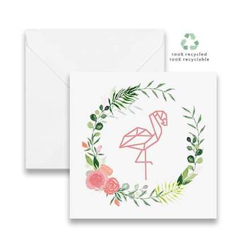 Wreath Flamingo