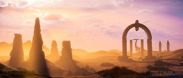 Horizon Zero Dawn Landscape