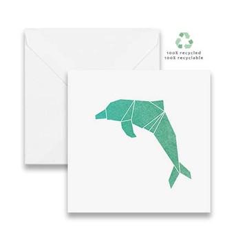 Watercolour Dolphin