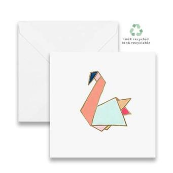Pastels Swan