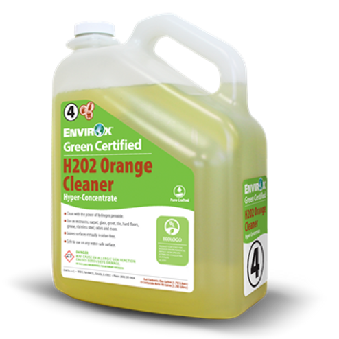 #116 Green Certified H2O2 Orange Cleaner