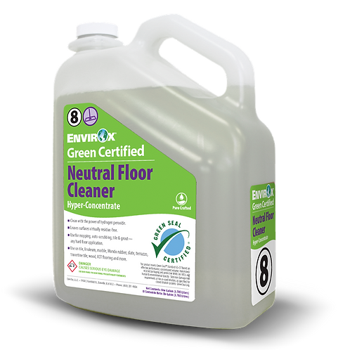 #114 Absolute Green Certified Neutral Floor Cleaner Hyper-Concentrate.