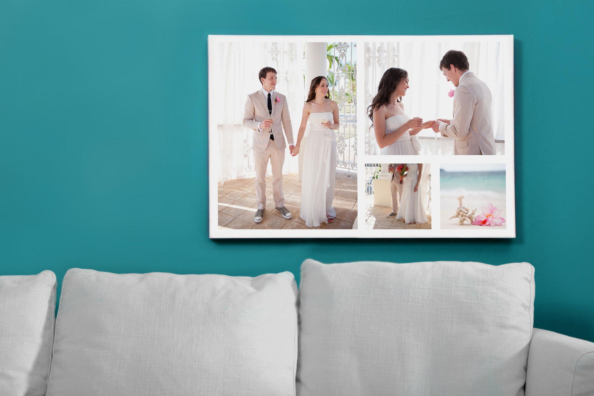 Wedding-photo-collage-canvas