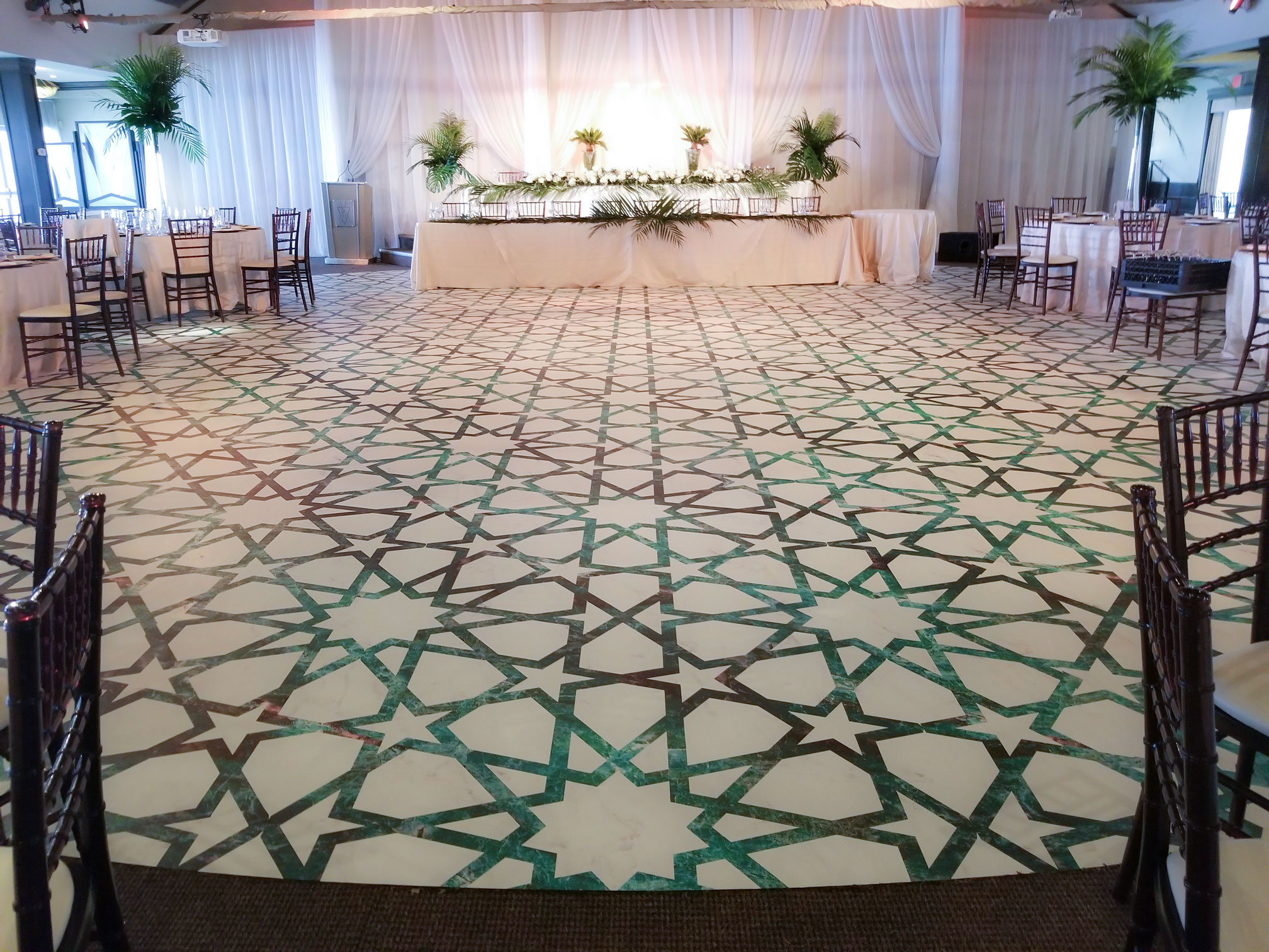 Dance Floor Wrap - Palais Royale