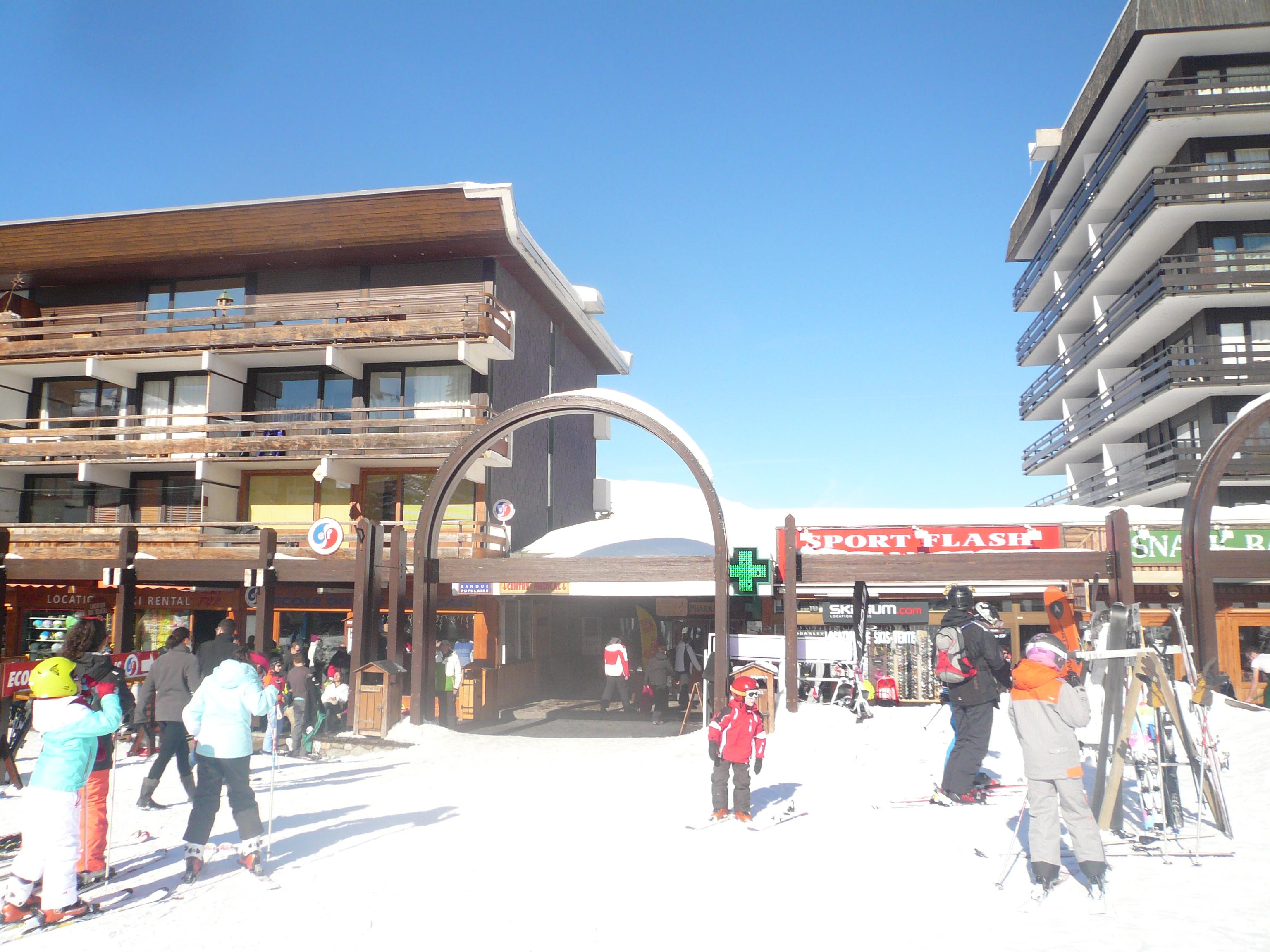Les Ménuires - Centre de la station