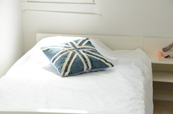 Bed sheets duvet covers not provided