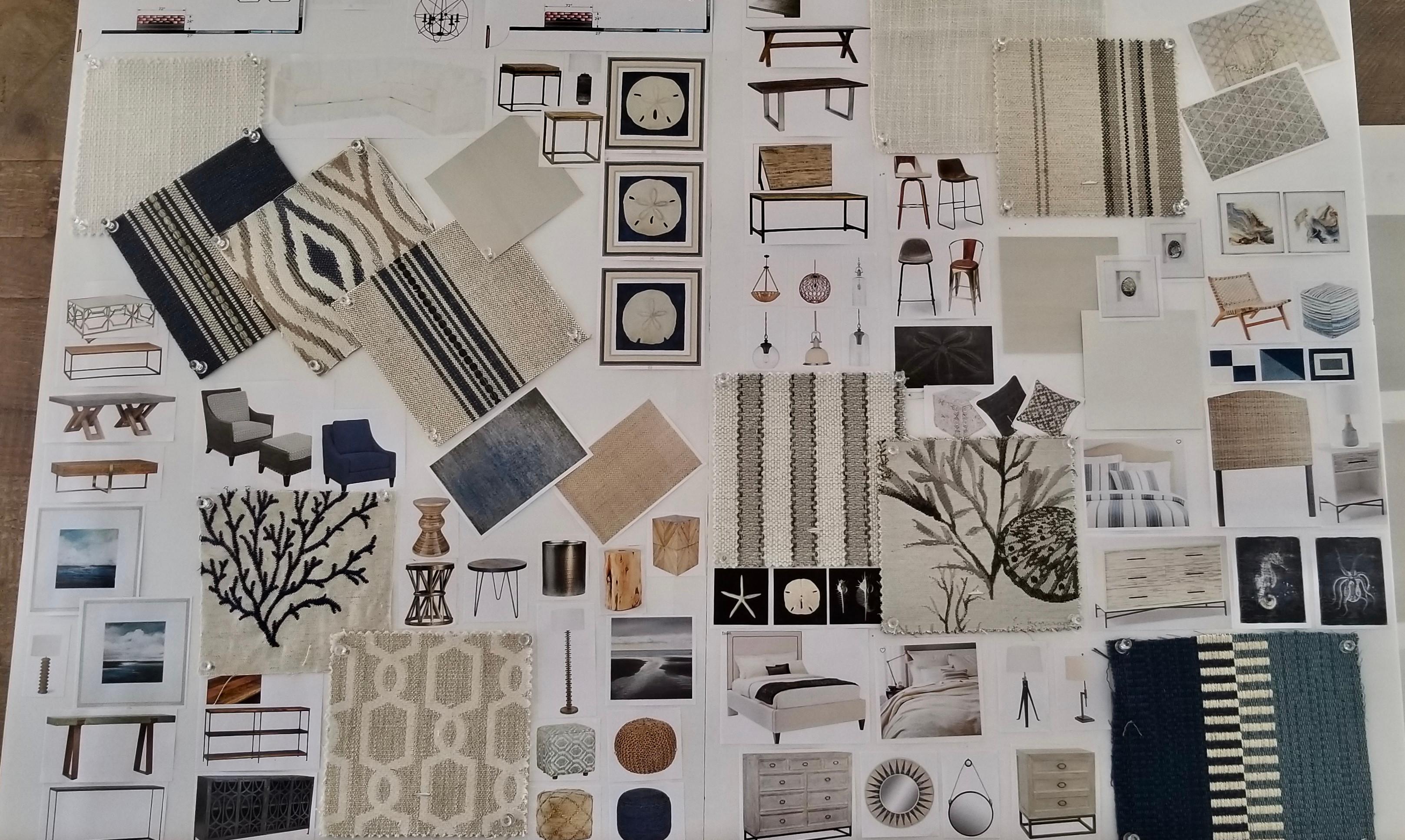 Residential Interior Design Board