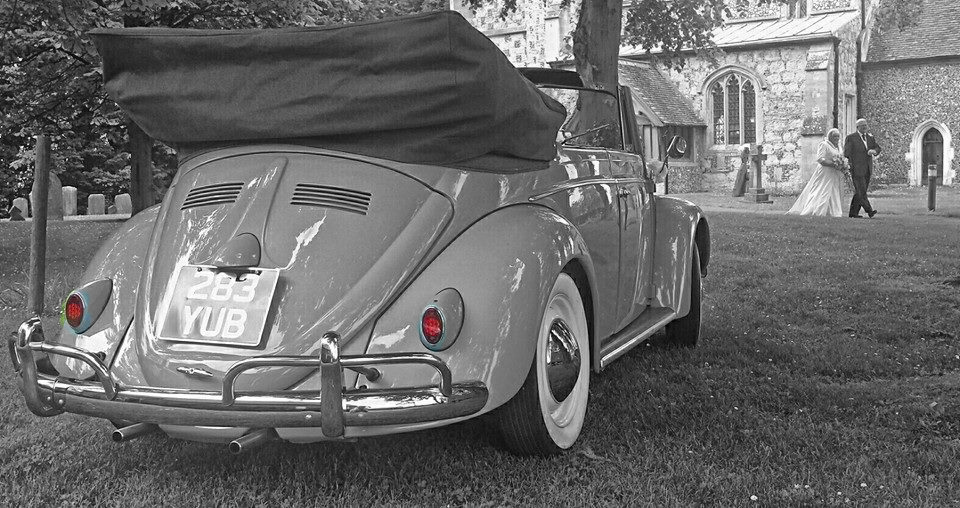 VW Beetle Ascot Church