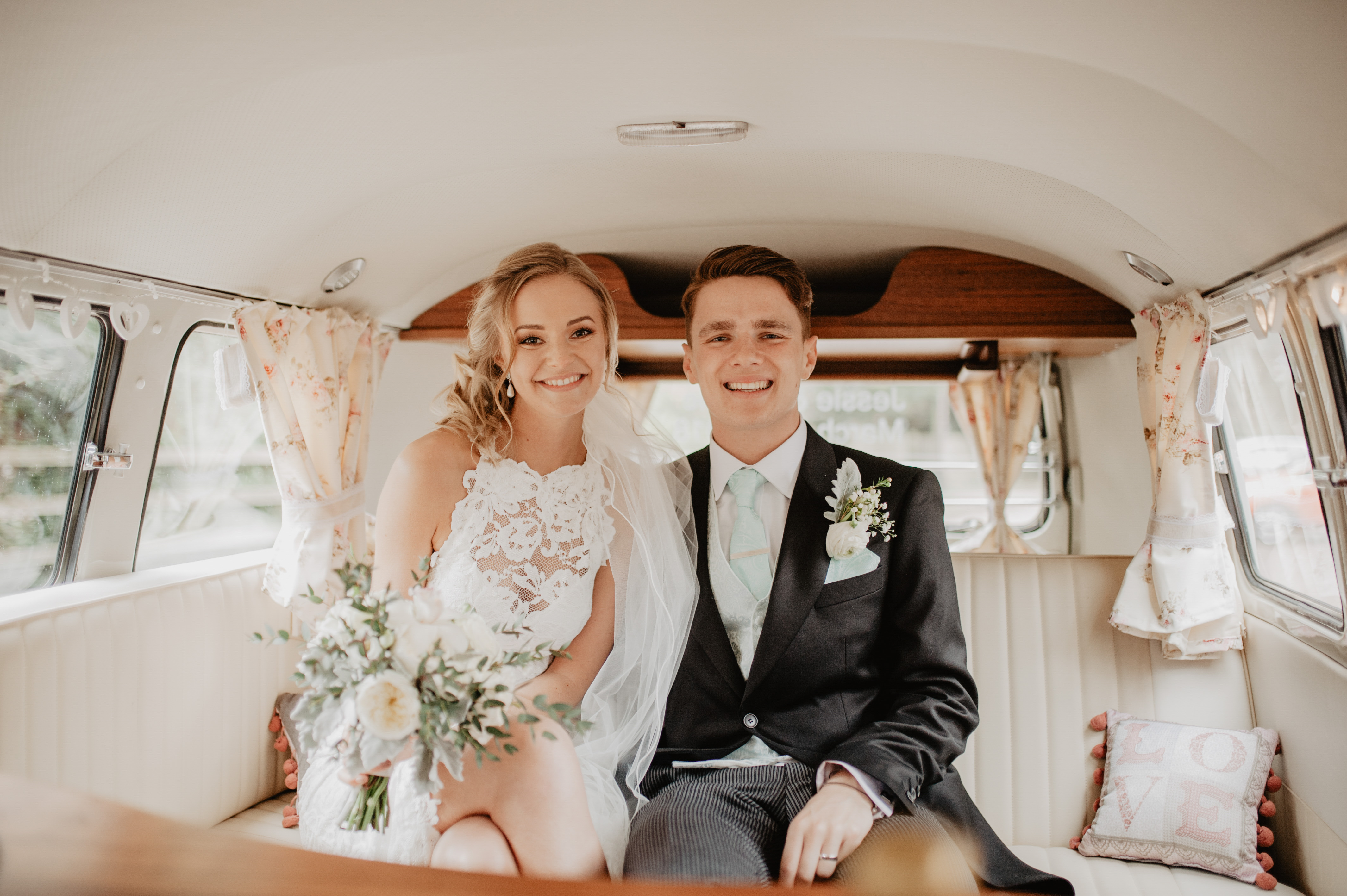 VW Classic Wedding Cars Interior
