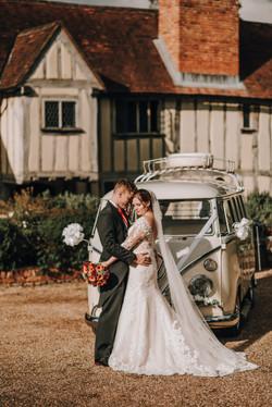 Hazel and Richard at Cain Manor