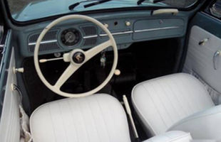 VW Classic Wedding Cars Beetle Interior