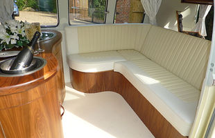 VW Classic Wedding Cars Spliscreen Interior