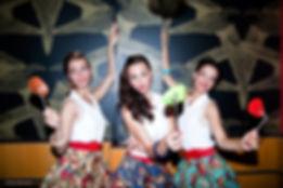 Trio vocal féminin - animation mariage, anniversaire, soirée d'entreprise...