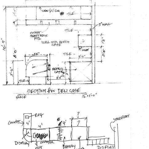 Deli Section Sketch