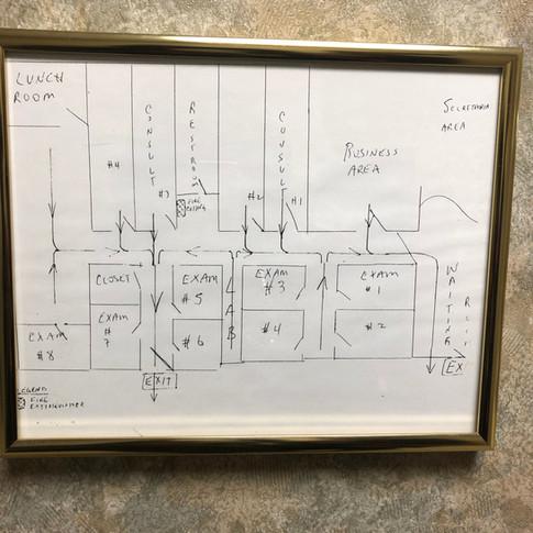 Office Evacuation Plan - DIY