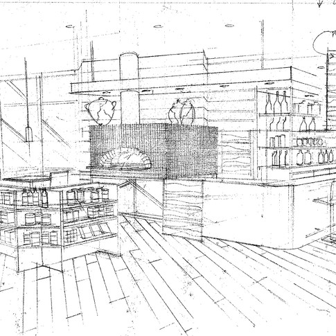 Perspective & Oven Sketch