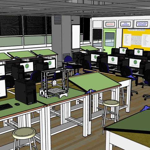 Computer Lab 3D Model