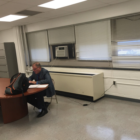 Teachers Resource Room - Before