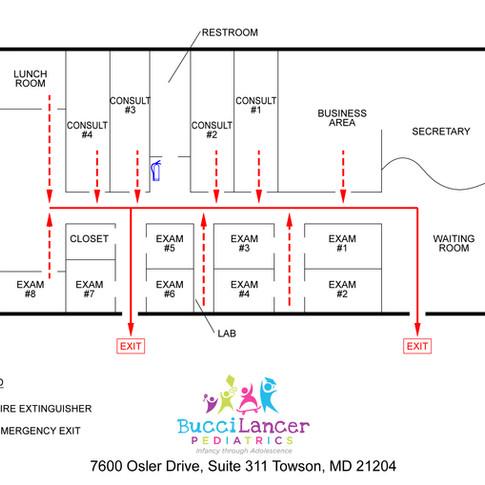 Office Evacuation Plan - DDC