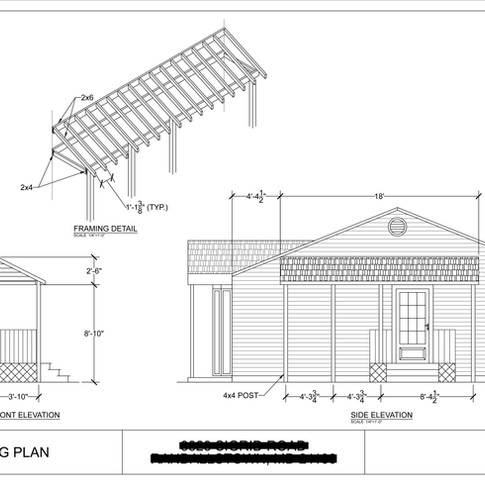 Roof Permit Drawing
