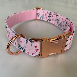 Hunter & co Floral dog collar