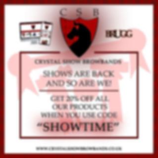 crystal show browbands sale