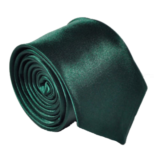 Forest Green Satin Show Tie