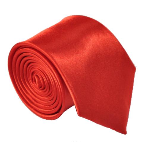 Red Satin Show Tie