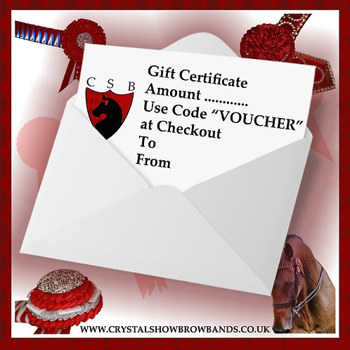 Gift Certificate £50.00