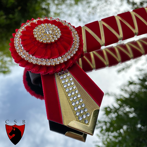The Pendal Rose Browband