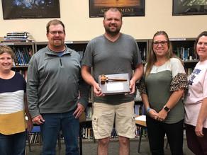 Henry School Board Receives Award